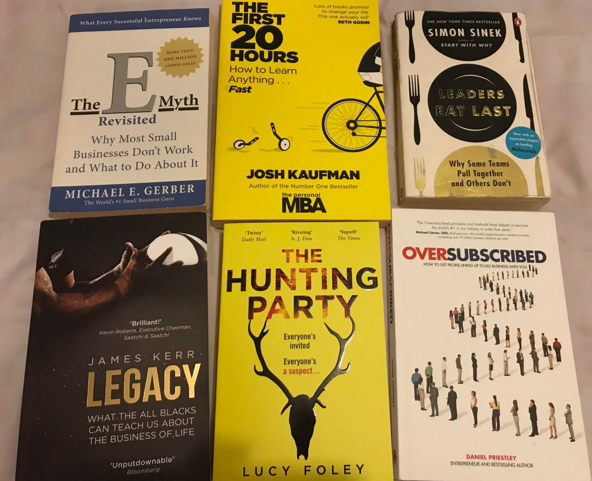 Think week books to read